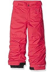 Columbia Starchaser Peak II - Pantalón ski para niña, color rojo, talla S