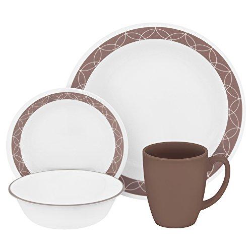 corelle-vitrelle-glass-sand-sketch-chip-and-break-resistant-dinner-set-set-of-16-brown