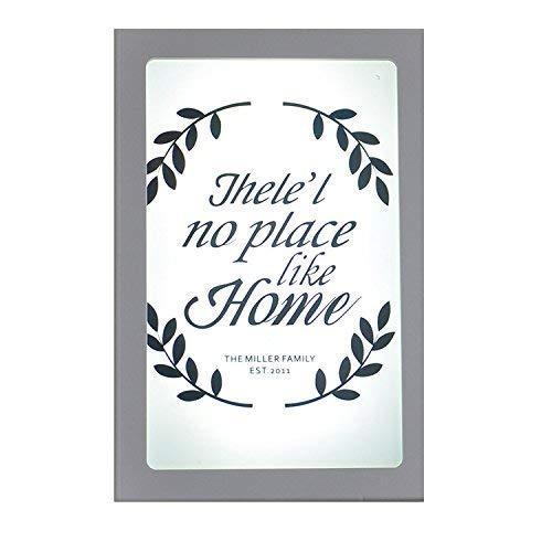 WLM Moderne minimalistische Haus Familie Fresco Treppe Dinroom Studie Schlafzimmer 20 * 30 cm, 20 * 30 Cmhome2 Warmfashion Leuchte,30 * 40cm - weißes Licht-2 -