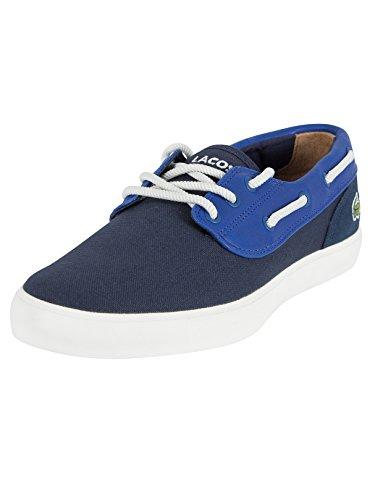Lacoste Uomo Jouer Deck 117 Deck Shoes 1 CAM, Blu, 44.5