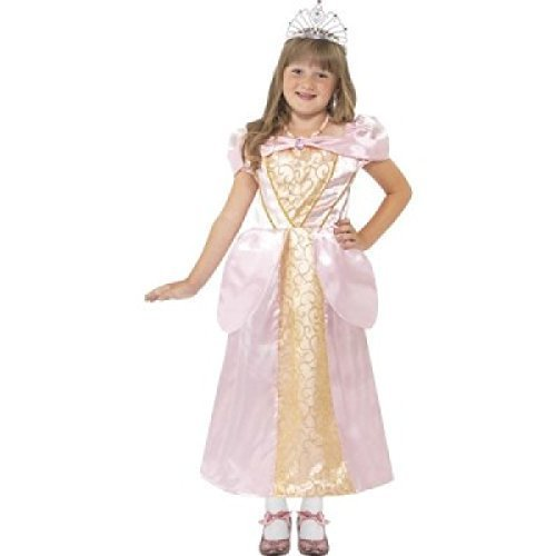 Mädchen Rosa Prinzessin Aurora Dornröschen Büchertag Märchen TV Film Comicfigur Kostüm Kleid Outfit - Rosa, Rosa, 4-6 Years (Dornröschen Prinzessin Aurora Kostüm)