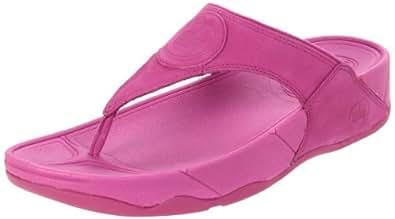 FitFlop Women's FITFLOP WALKSTAR III Thong Sandals Grey grey  Purple Size: 7.5