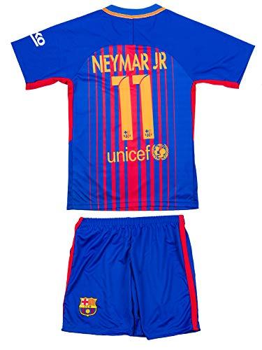 ATB Barcelona #11 Neymar 2016/17 Heim Kinder Trikot und Hose (152)