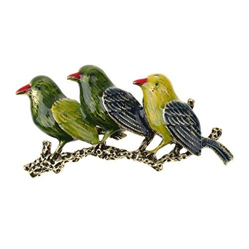 Neue Art Und Weise Vogel Kristall / Strass Brosche Frauen / Männer Vintage-Schmuck