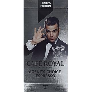 Café Royal Agent's Choice, 100 kompatible Kapseln für Nespresso, 10er Pack (10 x 10 Kapseln)