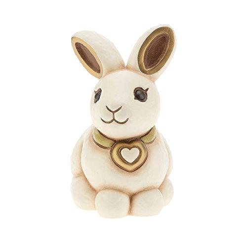 Thun® - conglio bianco medio - animali soprammobile da collezione - ceramica - i classici