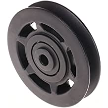 ZFE, 95 mm, rueda de la polea de rodamiento universal, resistente al agua y al desgaste, para máquina de gimnasio, repuesto.