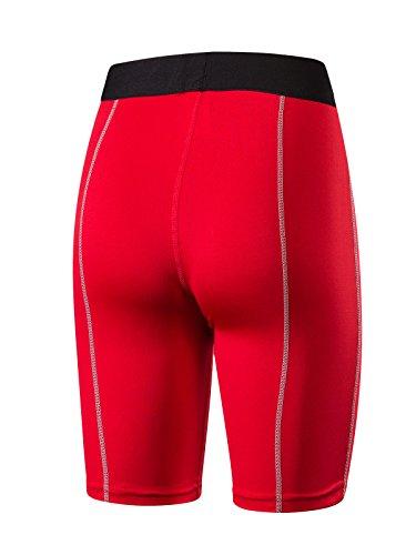 Azue - Short de sport - Femme red