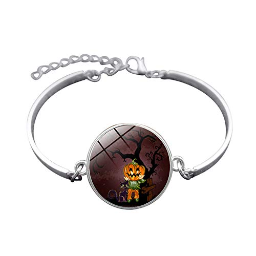 te Halloween Schmuck Zeit Edelstein Armband Festival Armband Armband Herren Damen Karnevalsfeier ()