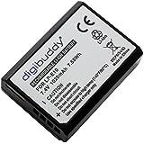 Accu pour Canon EOS 1300D, 1020mAh, remplace: Canon LP-E10;