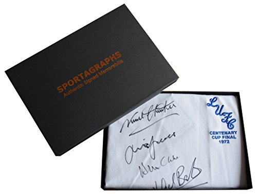 Sportagraphs-Leeds-United-SIGNED-x9-Shirt-Autograph-Gift-Box-Football-1972-FA-Cup-AFTAL-COA-PERFECT-GIFT