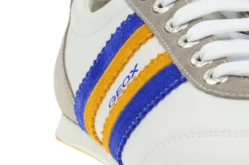 Sneaker Uomo Baskets Chaussures Andrea Blanches En Bianco Geox wPqR6XYH