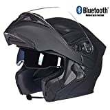Bluetooth Integrato Modulare Flip Full Face Moto Casco Double Sunshade Anti-Fog Mp3 Walkie Talkie Casco,G03,L