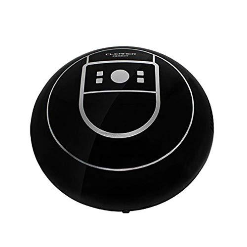 Mop Harte Boden (ZUZEN Staubsaugerroboter, Maschine Automatische Reinigungsmaschine - Hohe Saugleistung mit Saugbürste, automatische Selbstaufladung, Tropfensensor für Harte Böden und Teppiche,Black)