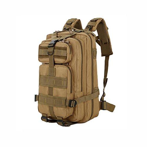 Yaxuan 30l zaino tattico d'assalto zaino militare resistente all'acqua militare oxford camo impermeabile 3p zaino outdoor escursionismo campeggio trekking caccia (colore : 2)