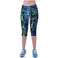 Pantalones mujer deporte Sannysis YOGA Pantalones Mallas para mujer, color