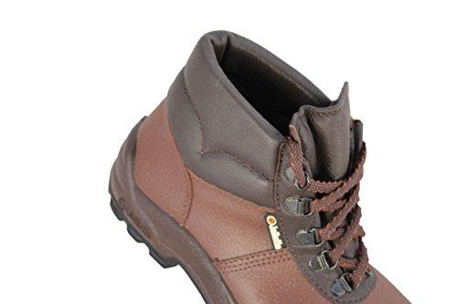 Jalmont Trabalham Sas Sapatos Profissionais S3 Jallatte Sapatos Voute Marrons HqFxSdFB
