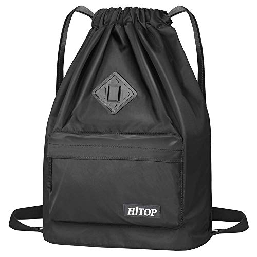 1ec70beae19c5 Sac de sport étanche HITOP, sac à dos de sport, sac à dos léger pour homme  et femme, Noir