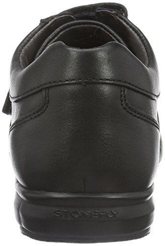 Stonefly Lucky 11, Baskets Basses Homme Noir (Nero/Black 000)