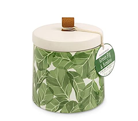 Paddywax Botany - Green Fig & Bamboo - Scented Candle