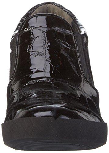 Kennel und Schmenger Schuhmanufaktur Damen Liberty Plateau Schuhe Schwarz (black Sohle schwarz 450)