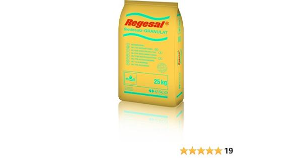 25 kg Regeneriersalz Regesal® Siedesalz Granulat 0,46 EUR//kg 1 Sack