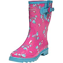Target Dry Elle Womens impermeable caucho Wellies