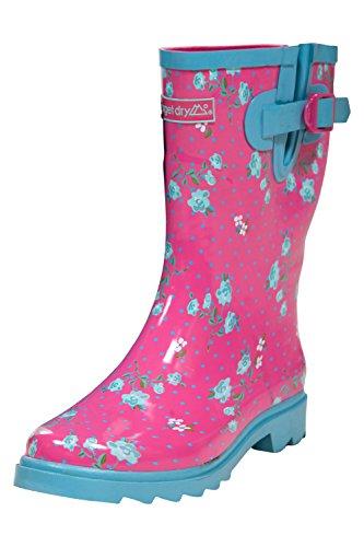 Target Dry Botas de agua Elle Rosa / Azul EU 38 (UK 5)
