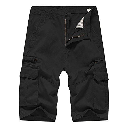 AG&T Tune-Up Shorts Cargo de Travail - Pantalon Court avec Les Poches Latérales