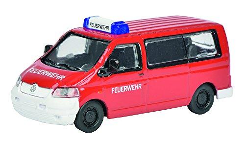 Schuco 452622100 - VW T5 Feuerwehr Maßstab 1:87, rot/weiß gebraucht kaufen  Wird an jeden Ort in Deutschland