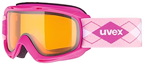 Uvex Slider Ski Goggles Pink/Laser Gold Lite, One Size,