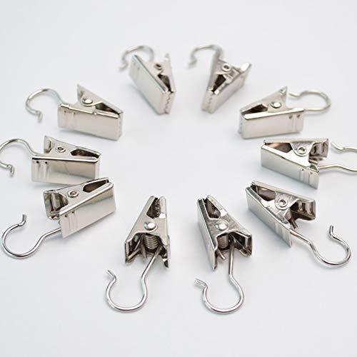 Aliaoforz Vorhangzubehör Haken- und Stangenklemmen Zangen Vorhangklemmen Vorhangzangen