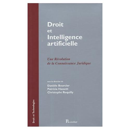 Droit et intelligence artificielle de Danièle Bourcier (4 novembre 1994) Broché