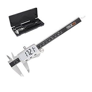 Calibro Digitale, Tacklife DC02 Precisione Micrometro in Acciaio Inox 150 mm/6 Pollici con Schermo Grande e Chiaro… 1 spesavip