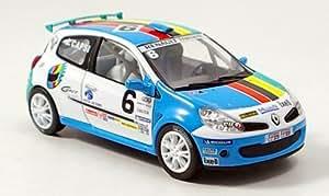 Renault Clio, No.6, Clio Cup, 2006, voiture miniature, Miniature déjà montée, Norev 1:43