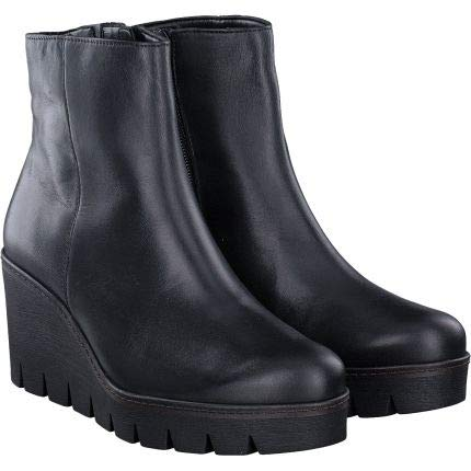 Gabor Utopie Womens Klobige Keil Heel Ankle-Boots 6.5 UK/ 40 EU Schwarz -