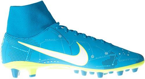 Nike Herren Mercurial Vctry 6 Df Njr Agpro Fußballschuhe Türkis (Blue Orbit/white/blue Orbit/armory Navy/volt/volt)