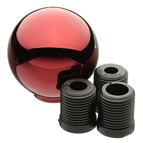lzn Universal AT / MT Runde Kugel Schalthebel Schaltknauf Mit M8 M10 M12 GEWINDE (Schaltknauf Automatik Chrom)