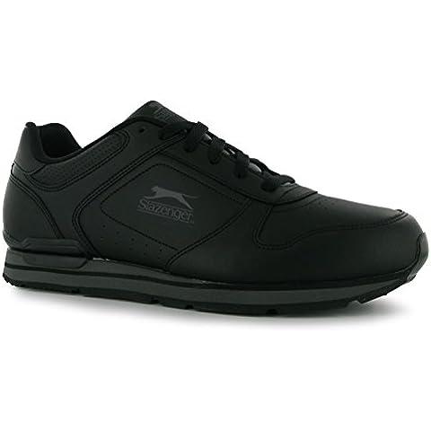 Slazenger - Zapatillas de Piel para hombre