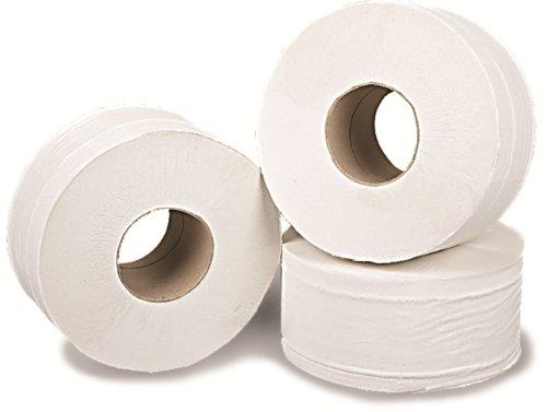 Connect Hygiene J27150 Lot de 12 rouleaux de papier toilette Mini Jumbo