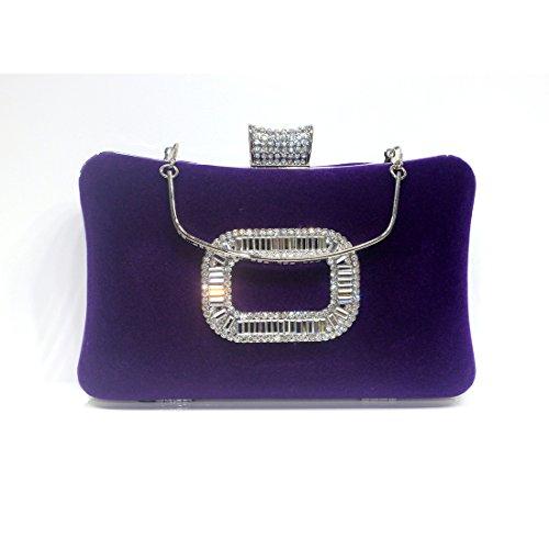 HT, Poschette giorno donna Purple