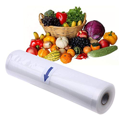 Lamination Roll Food Storage 12-Inch 120 Meter Vacuum Sealer Food & Home Kitchen Storage Organization Pack of 5