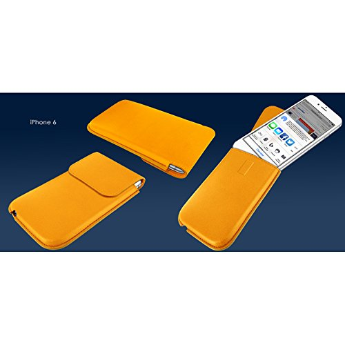 Piel Frama 692Y Unipur Etui rigide pour iPhone 6 Plus Jaune jaune