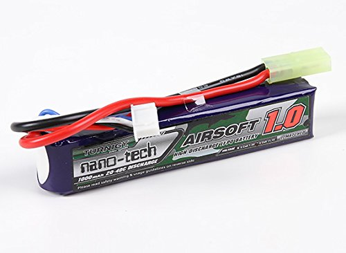 Turnigy nano-tech 1000mah 3S 20~40C Lipo Softair Akku Pack von Modellbau Eibl (V Pack 11.1)