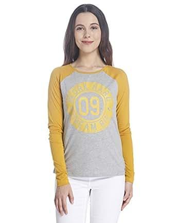 VERO MODA Women's Body Blouse Top (10169005_Harvest Gold_M)