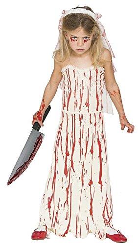 Bloody Braut Kostüm Kinder - Fyasa 706443-t03Bloody Braut Kostüm, Mittel
