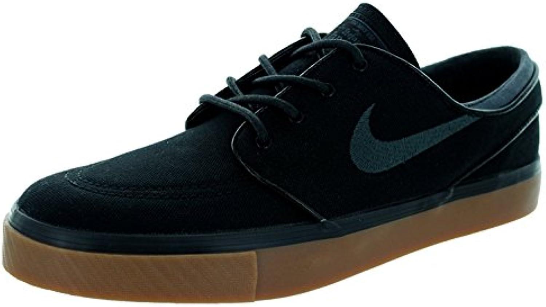Nike Men's Zoom Stefan Janoski Skate Shoe, Black/Anthracite/Gum Med Brown, 45.5 D(M) EU/10.5 D(M) UK