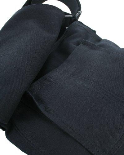 Converse Vintage Patch Fortune Unisex Umhängetasche, medium grey, 4.131 liter, 98305A-55 Black