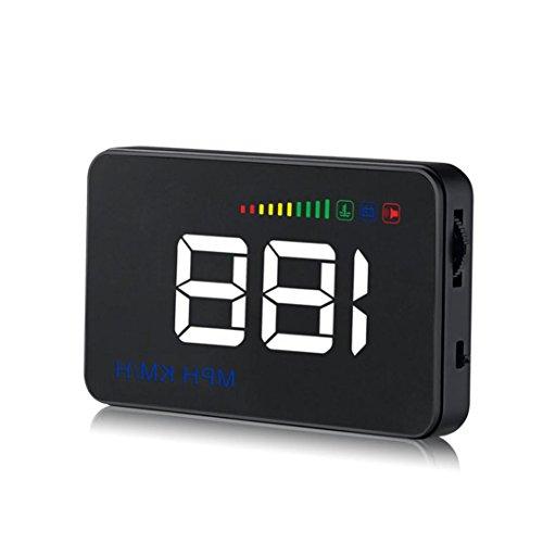 Preisvergleich Produktbild Jaminy A500 Car HUD Head Up Display OBD II 2 Geschwindigkeit Warnsystem Kraftstoffverbrauch