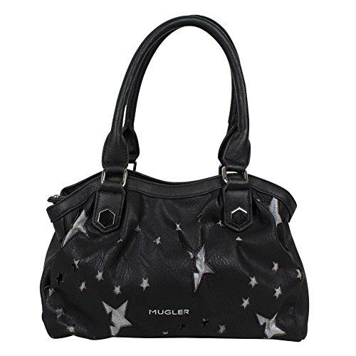 Mugler Etoile, Einkaufstasche Noir (0127)